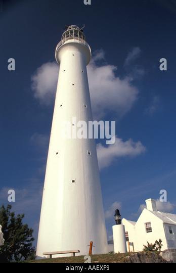 Bermuda Gibbs Hill Lighthouse - Stock Image