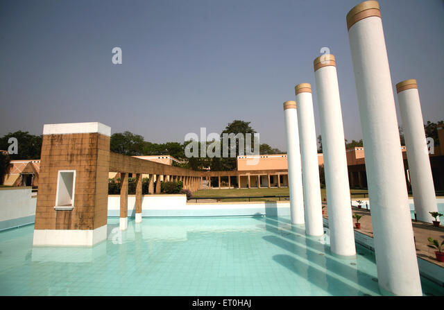 Artistically designed Rusee Modi centre for excellence in the complex of Tata Steel in Jamshedpur Tata Nagar ; Jharkhand - Stock-Bilder