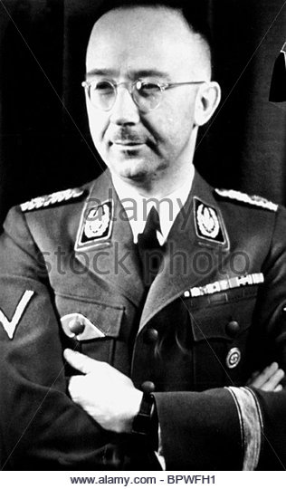 HEINRICH HIMMLER HEAD OF THE SS 02 July 1941 - Stock-Bilder