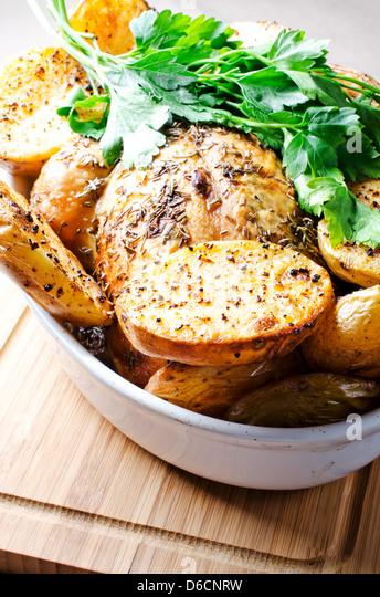 Oven baked potato - Stock-Bilder