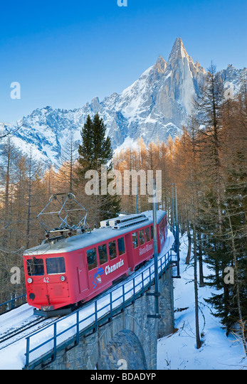 Chamonix Mont Blanc French Alps Haute Savoie Chamonix France - Stock-Bilder