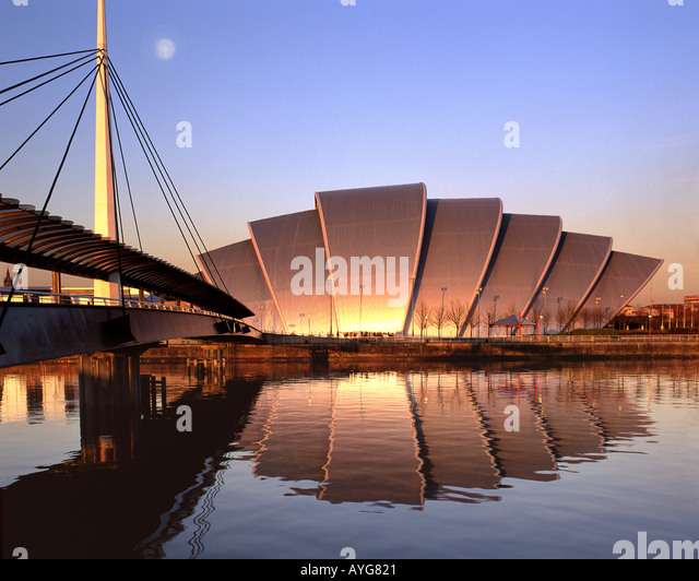 GB - SCOTLAND: Scottish Exhibition and Conference Centre in Glasgow - Stock Image