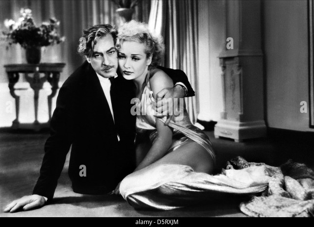 JOHN BARRYMORE & CAROLE LOMBARD TWENTIETH CENTURY (1934) - Stock Image