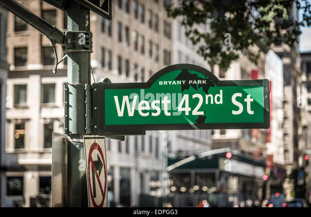 42nd Street Sign Stock Photos & 42nd Street Sign Stock ...