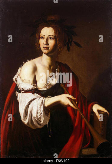 Jusepe de Ribera - Allegory of History - Stock Image