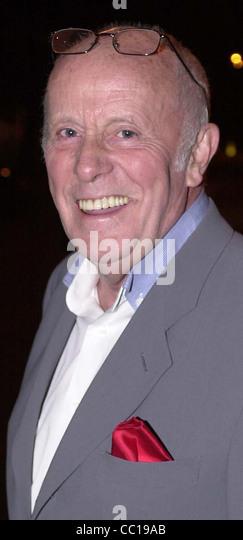 Actor Richard Wilson - Stock-Bilder