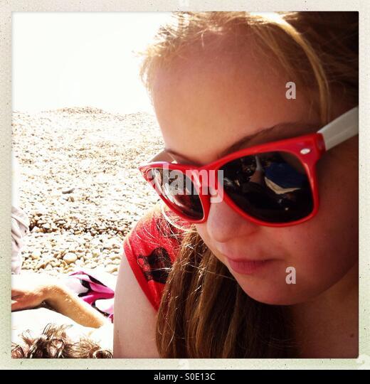 Cool sunglasses - Stock Image