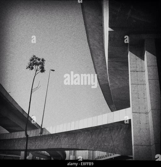 Brazil, Sao Paulo, Elevated roads - Stock-Bilder