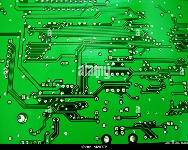Circuit board - Stock Image