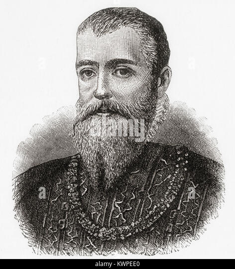 Eric XIV, 1533 – 1577.  King of Sweden.  From Ward and Lock's Illustrated History of the World, published c.1882. - Stock Image