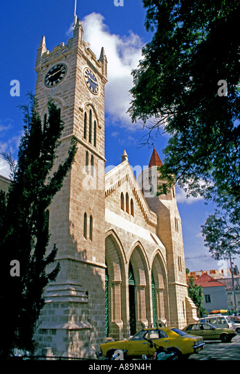 Barbados Bridgetown Parliament government building - Stock Image