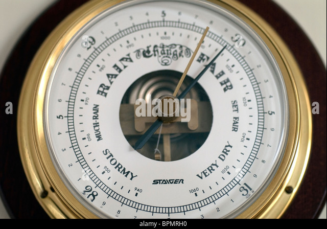 Barometer stock photos barometer stock images alamy for Barometer and fishing
