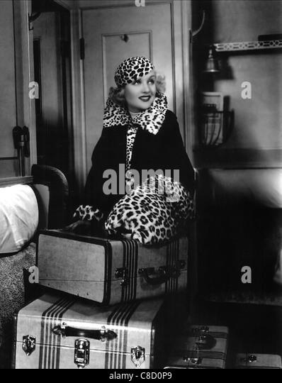 CAROLE LOMBARD TWENTIETH CENTURY (1934) - Stock Image