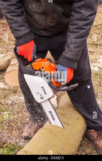 A Man Sawing Wood Stock Photos Amp A Man Sawing Wood Stock