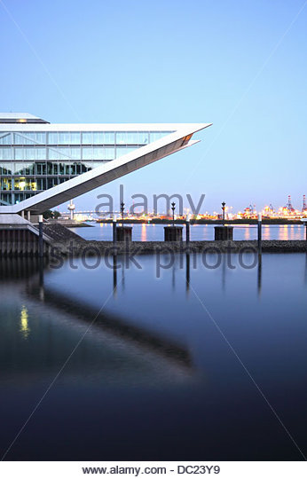 Harbour at Hamburg, Germany - Stock-Bilder