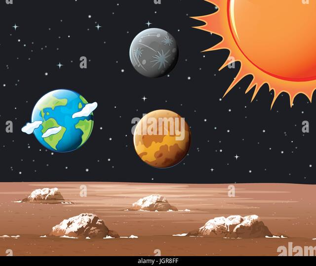 different planets in solar systems - photo #30