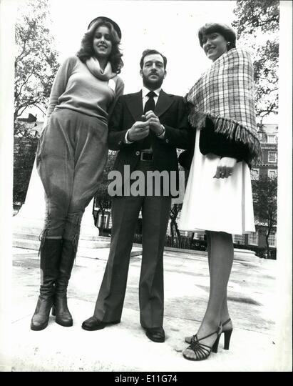 Nov. 11, 1977 - Miss World Contestants in London: many of the Miss World contestants are now in London for the beauty - Stock Image