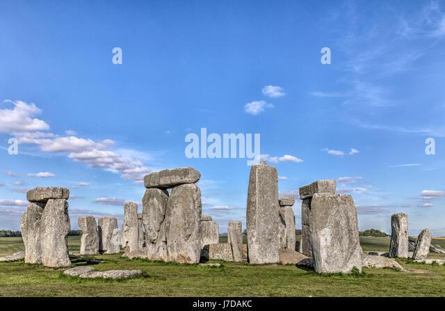 Stonehenge, Wiltshire, England - Stock-Bilder