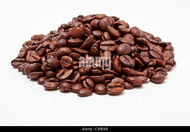 Coffee beans - Stock Image