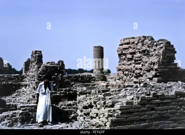 AA 6850. Archival 1960s, Babylon ruins, Iraq - Stock-Bilder