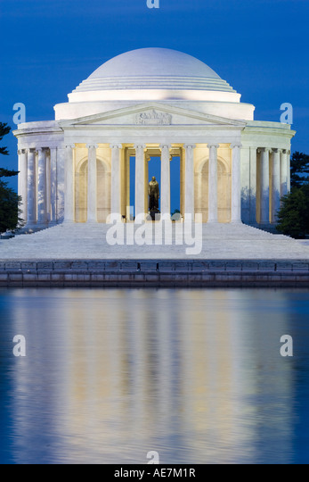 USA Washington DC Jefferson Memorial - Stock-Bilder
