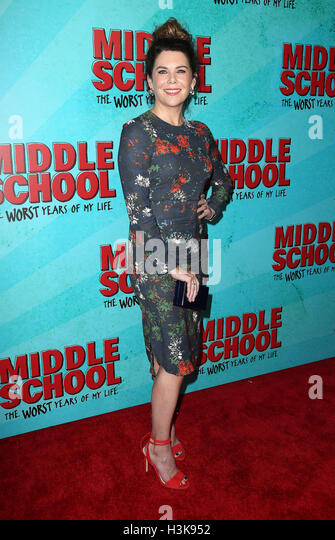 Hollywood, California, USA. 5th Oct, 2016. 05 October 2016 - Hollywood, California - Lauren Graham. ''Middle - Stock Image