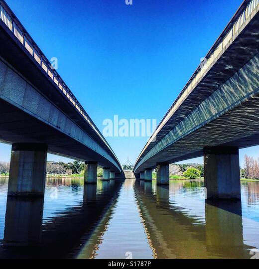 Bridge in Canberra, Australia - Stock-Bilder
