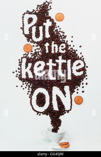Put the kettle on - Stock Image