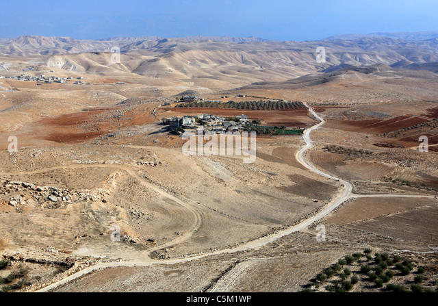 Palace of Herodes the Great (1st century BC), Herodion (Herodium), Israel - Stock Image
