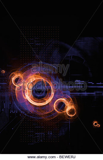 Abstract technology design - Stock Image