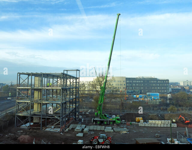 New head office being built in Walsall Gigaport, West Midlands for Jhoots pharmacy, England UK - Stock Image