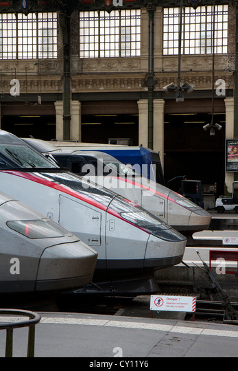 high speed train in france stock photos high speed train in france stock images alamy. Black Bedroom Furniture Sets. Home Design Ideas