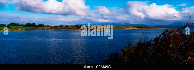 Westport Bay, Co Mayo, Ireland - Stock Image