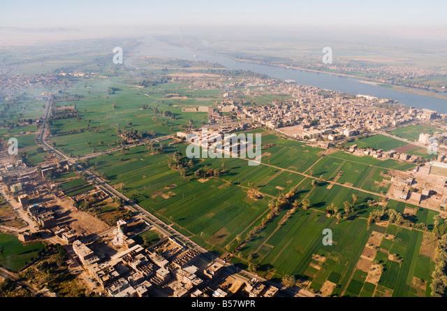 River Nile Aerial View Stock Photos & River Nile Aerial