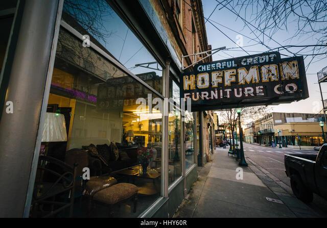 Dauphin Street In Downtown Mobile Stock s & Dauphin