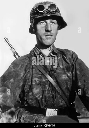 Danish SS soldier on the Eastern Front, 1941 - Stock-Bilder