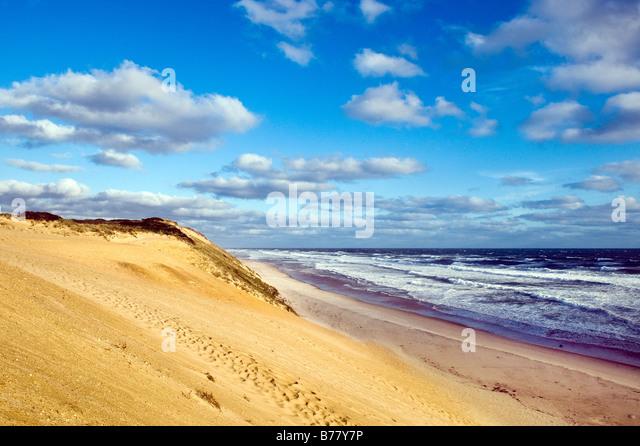 Cape Cod National Seashore Eastham Cape Cod Massachusetts - Stock Image