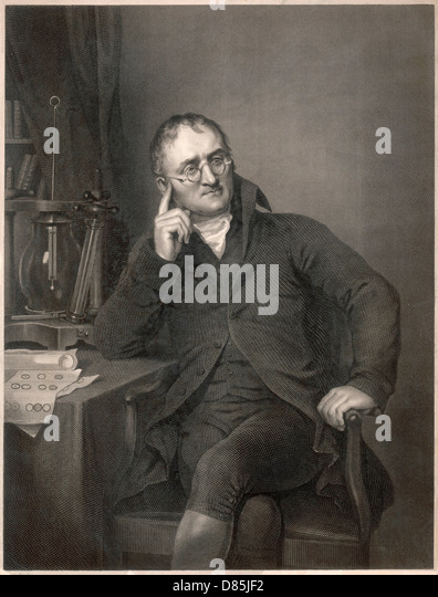 John Dalton - Stock Image