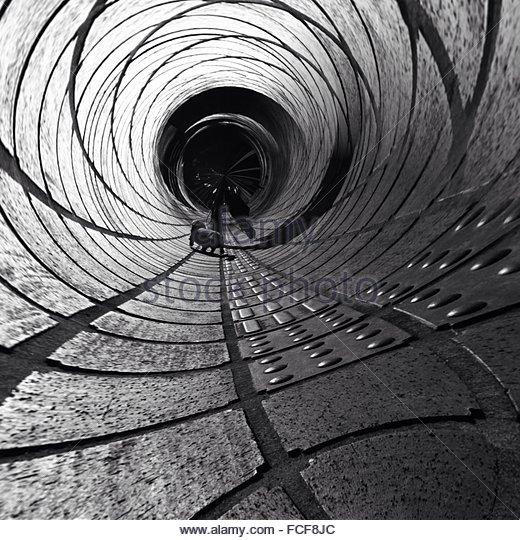 Interior Of Abstract Tunnel - Stock-Bilder