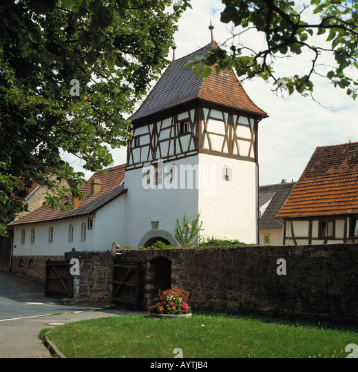 europe germany lauda town stock photos europe germany lauda town stock images alamy. Black Bedroom Furniture Sets. Home Design Ideas