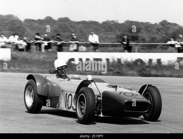U2 driven by Mallock 1963. - Stock Image
