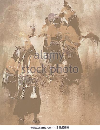 Dancers (African dancers) - Stock Image
