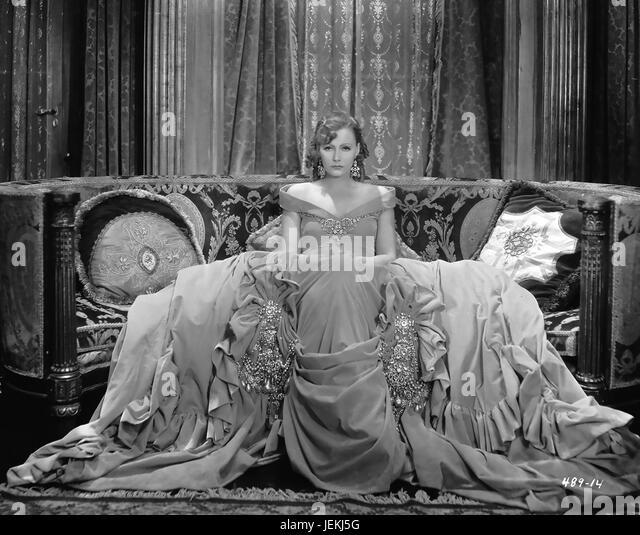 ROMANCE 1930 MGM film with Greta Garbo as Rita Cavallini - Stock-Bilder