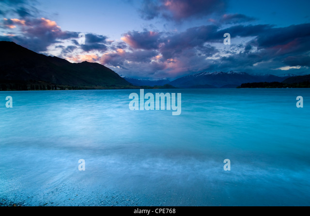 Lake Wanaka, Central Otago, South Island, New Zealand, Pacific - Stock Image