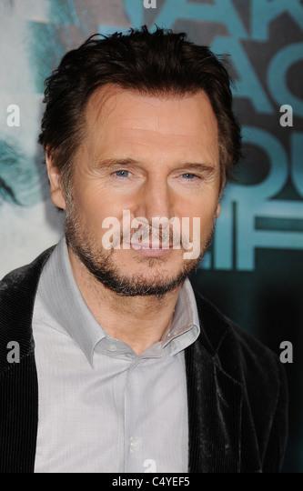LIAM NEESON  irish film actor in May 2011. Photo Jeffrey Mayer - Stock-Bilder