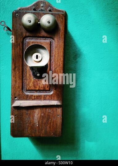 Retro phone - Stock-Bilder