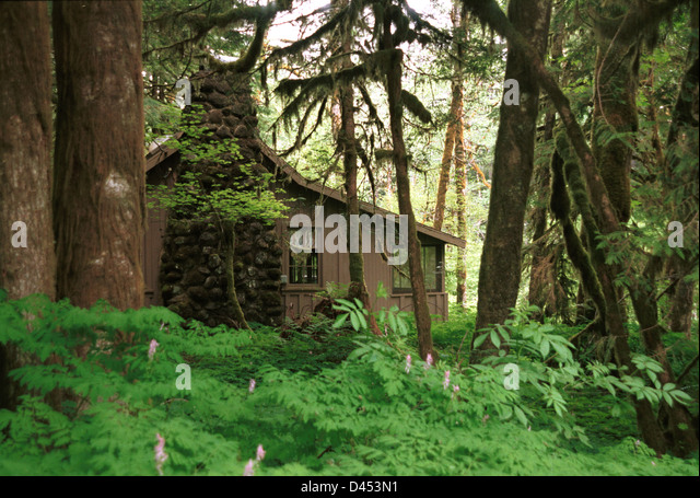 Ronald t bennett photography stock photos ronald t for Cabin in the woods oregon