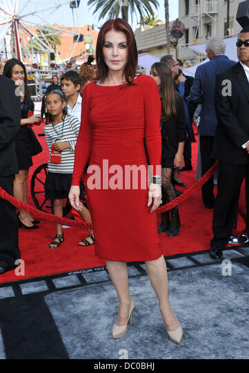 Priscilla Presley The Cirque Du Soleil world premiere of 'Iris: A Journey Into The World Of Cinema' held - Stock Image