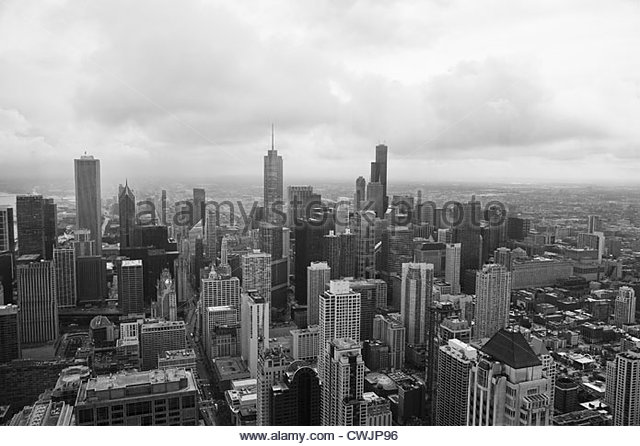 Chicago cityscape - Stock Image