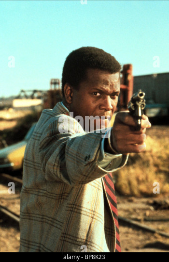 SIDNEY POITIER THE ORGANIZATION (1971) - Stock Image